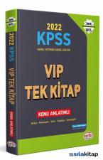 Editör Yayınevi KPSS Genel Yetenek Genel Kültür Vi̇p Tek Kitap Konu Anlatımlı