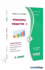 Egem | 3. Sınıf  Finansal Yönetim-1 Hedef Sorular