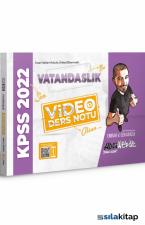 Hocawebde Yayınları 2022 KPSS Vatandaşlık Video Ders Notu