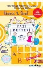 İlkokul 1. Sınıf Yazı Defteri-Dik Temel Harflerle