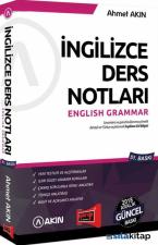 İngilizce Ders Notları English Grammar