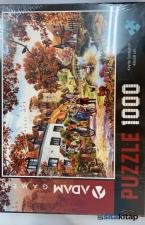 Köyde Sonbahar 1000 Parça Puzzle (48x68)