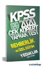 KPSS 2020 Rehberlik ve Özel Eğitim Yaprak Test