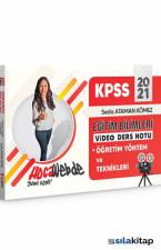 KPSS 2021 Eğitim Bilimleri Video Ders Notları Öğretim Yöntemleri ve Teknikleri