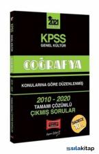 KPSS 2021 Genel Kültür Coğrafya 2010-2020 Çıkmış Sorular