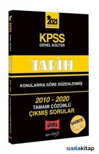 KPSS 2021 Genel Kültür Tarih 2010-2020 Çıkmış Sorular