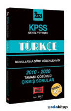 KPSS 2021 Genel Yetenek Türkçe 2010-2020 Çıkmış Sorular