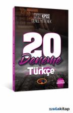 KPSS 2021 Genel Yetenek Türkçe 20'li Deneme Sınavı
