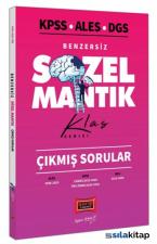 KPSS ALES DGS Benzersiz Sözel Mantık Çıkmış Sorular Klas Serisi Yargı Yayınları