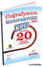 KPSS Lise-Önlisans Coğrafyanın Manifestosu 20 Çözümlü Deneme