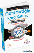 KPSS Matematiğin Kara Kutusu-1.Cilt