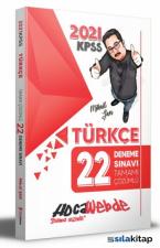 KPSS Türkçe Tamamı Çözümlü 22 Deneme 2021