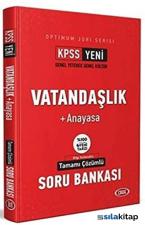 KPSS Vatandaşlık Anayasa Optimum Jüri Serisi Çözümlü Soru Bankası