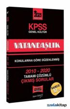 KPSS Vatandaşlık Konularına Göre Düzenlenmiş Tamamı Çözümlü Çıkmış Sorular