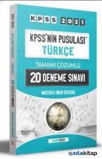 KPSS'nin Pusulası Türkçe Tamamı Çözümlü 20 Deneme Sınavı