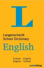 Langenscheidt School Dictionary Turkish - English English - Turkish
