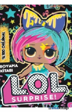 Lol Surprise Neon Splatters Boyama Kitabı