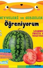 Meyveler ve Sebzeleri Öğreniyorum 2-4 Yaş
