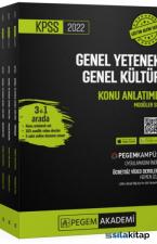Pegem Yayınları 2022 KPSS Genel Yetenek Genel Kültür Konu Anlatımlı Modüler Set (6 Kitap)