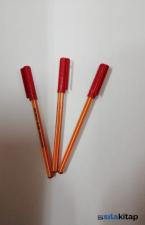 Pensan 1010 Tükenmez Kalem 1 Mm Kırmızı