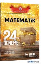 Sınav 8.Sınıf LGS Matematik 24 Deneme