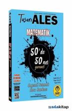 Tasarı Yayınları ALES Matematik 50 De 50 Net Sayısal Yetenek Soru Bankası Video Çözümlü