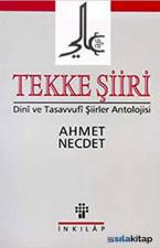 Tekke Şiiri Dini ve Tasavvufi Şiirler Antolojisi