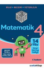 Tudem 3 Boyut 4.Sınıf Matematik Soru Bankası - Yarıyıl Tatili Föyü Hediyeli