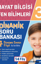Tudem 3.Sınıf Hayat Bilgisi/Fen Bilimleri Dinamik Soru Bankası