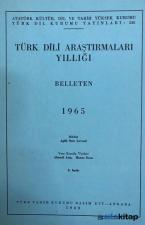 Türk Dili Araştırmaları Yıllığı Belleten 1965