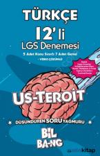 Türkçe Us-Teroit 12 Li Lgs Denemesi Ünlü Yayıncılık