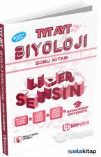 TYT-AYT Biyoloji Soru Bankası Liderplus Yayınları