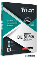 TYT AYT Üniversite Sınavlarına Hazırlık Tamamı Çözümlü Dil Bilgisi Soru Bankası Pegem Yayınları