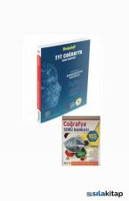 TYT Coğrafya Soru Bankası Derspektif Hibrit Yayınları + Ygs Coğrafya Soru Bankası Hediyeli
