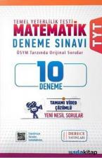 TYT Matematik 10'Lu Deneme Derece Yayınları