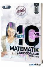 TYT Matematik Son 10 Yıl Çözümlü Çıkmış Sorular-2010-2019
