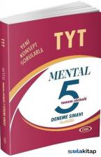 TYT Mental Tamamı Çözümlü 5 Fasikül Deneme Sınavı
