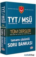 TYT MSÜ Tüm Dersler Tamamı Çözümlü Soru Bankası