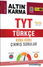TYT Türkçe Konu Konu Çıkmış Sorular