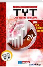TYT Z9 İleri Seviye Video Çözümlü Deneme Sınavaları 1.Oturum