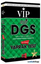 Yargı 2020 DGS VIP Çek Kopartlı Yaprak Test