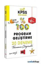 Yargı 2020 KPSS Eğitim Bilimleri Program Geliştirme Tamamı Çözümlü 20 Deneme