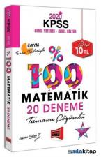 Yargı 2020 KPSS Matematik Tamamı Çözümlü 20 Deneme