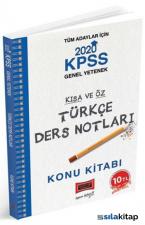 Yargı 2020 KPSS Türkçe Kısa ve Öz Ders Notları
