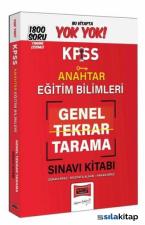 Yargı KPSS Eğitim Bilimleri Anahtar Genel Tekrar Tarama 1800 Soru Kitabı