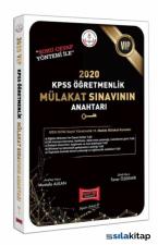 Yargı Yayınları 2020 Vip KPSS Öğretmenlik Mülakat Sınavının Anahtarı