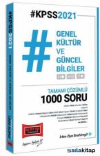 Yargı Yayınları 2021 KPSS Genel Kültür ve Güncel Bilgiler Tamamı Çözümlü 1000 Soru