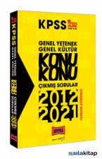 Yargı Yayınları 2022 KPSS Genel Yetenek Genel Kültür Konu Konu Tamamı Çözümlü Çıkmış Sorular (2012-2021)