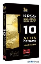 Yargı Yayınları 2022 KPSS Gy Gk Tamamı Çözümlü 10 Altın Deneme