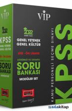 Yargı Yayınları 2022 KPSS Vi̇p Genel Yetenek Genel Kültür Lise Ön Lisans Modüler Soru Bankası